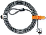KENSINGTON Câble antivol à double sécurité MicrosaverTwin 2 verrous à clés 64025
