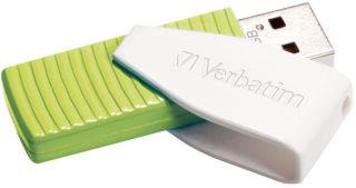 VERBATIM Clé USB 2.0 Swivel 32Go Verte 49815