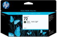 HP Cartouche d'encre noire mat n°72 130 ml C9403A