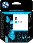 HP Tête d'impression jet d'encre cyan 11 C4811AE