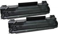 HP Double pack laser noir CE285AD