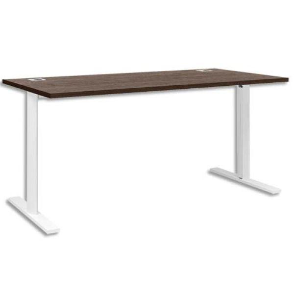 bureau pied i yes l160 x h74 x p80 cm gautier achat vente gautier 256760. Black Bedroom Furniture Sets. Home Design Ideas