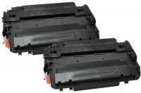 HP Lot de 2 Toner noir CE255XD