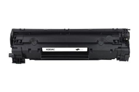 Compatible - Cartouche - Toner CF283A(83A) - Noir - 1500 pages