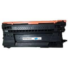 Compatible - Cartouche - Toner CF451A(655A) - Cyan - 10500 pages