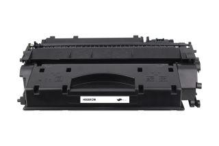 Compatible - Cartouche - Toner CE505X(05X) - Noir - 6500 pages