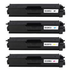 Compatible - Cartouche - Toner TN-329BK/C/M/Y/TN-328BK/C/M/Y/TN-900BK/C/M/Y - C/K/M/Y - 6000 pages
